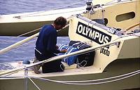 Première Route du Rhum, 1978. Olympus Photo Service, Mike Birch vainqueur.