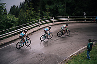 up the Passo di Sant'Antonio<br /> <br /> stage 15: Tolmezzo &ndash; Sappada (176 km)<br /> 101th Giro d'Italia 2018