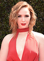 PASADENA, CA - APRIL 29:  Camryn Grimes at the 45th Annual Daytime Emmy Awars at the Pasadena Civic Auditorium on April 29, 2018 in Pasadena, California. (Photo by Scott KirklandPictureGroup)