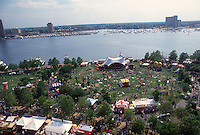 1994 June 06..Redevelopment.Downtown South (R-9)..HARBORFEST.TOWN POINT PARK.SHOT FROM WORLD TRADE CENTER...NEG#.NRHA#..