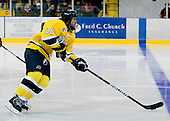Jeff Velleca (Merrimack - 28) - The Merrimack College Warriors defeated the Boston College Eagles 5-3 on Sunday, November 1, 2009, at Lawler Arena in North Andover, Massachusetts splitting the weekend series.