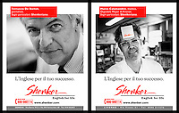 Advertising campaign  for the Shenker Institute English school © Claudio Vitale