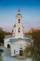 Фасад Никольской цуркви в Оренбурге