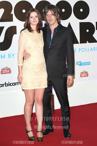 George Vjestica and Rosie Mortimer attending the '20,000 Days on Earth' Gala preview screening at Barbican Centre, London. 17/09/2014 Picture by: Alexandra Glen / Featureflash