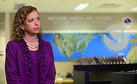 MIAMI, FL - JUNE 01: Debbie Wasserman Schultz U.S. Representative (FL-23) attend the start of hurricane season news conference at NOAA's National Hurricane Center on June 01, 2015 in Miami Beach, Florida. Credit: MPI10 / MediaPunch