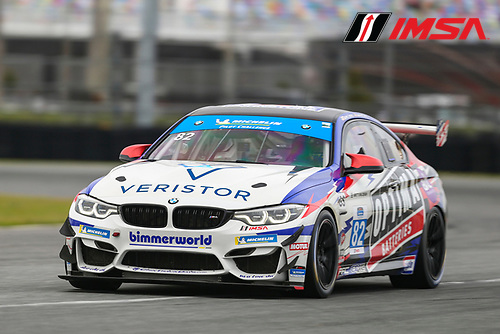 #82 BimmerWorld BMW M4 GT4, GS: James Clay, Devin Jones
