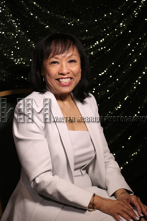 Baayork Lee attends the 2017 Tony Awards Meet The Nominees Press Junket at the Sofitel Hotel on May 3, 2017 in New York City.