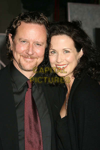 "JUDGE REINHOLD & WIFE AMY.""No Country For Old Men"" Los Angeles Premiere held at the El Capitan Theatre, Hollywood, California, .USA,  4 November 2007..portrait headshot.CAP/ADM/RE.©Russ Elliot/AdMedia/Capital Pictures."