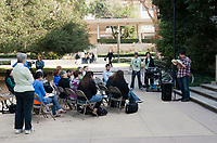 Jeffers Day at Occidental College, part of The Big Read: Robinson Jeffers and the Ecologies of Poetry, on Saturday, November 7, 2009. (Photo by Marc Campos, Occidental College Photographer)