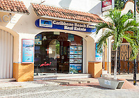 Real Estate Office, Playa del Carmen, Riviera Maya, Yucatan, Mexico.
