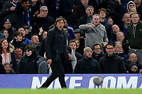 Chelsea Manager, Antonio Conte during Chelsea vs Manchester United, Premier League Football at Stamford Bridge on 5th November 2017