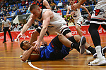 NELSON, NEW ZEALAND - APRIL 27:  Mike Pero Nelson Giants v Canterbury Rams on April 27 at Trafalgar Centre 2019 in Nelson, New Zealand. (Photo by: Evan Barnes Shuttersport Limited)