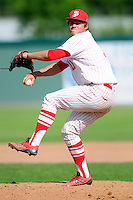 Shane Combs (11) of the St. John's (Shrewsbury) Pioneers during a game versus the Boston College High School Eagles at Campanelli Stadium on June 7, 2015 in Brockton, Massachusetts. (Ken Babbitt/Four Seam Images)