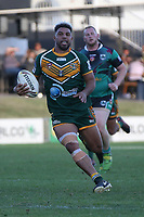 The Wyong Roos play Northern Lakes Warriors in Round 8 of the First Grade Central Coast Rugby League Division at Morry Breen Oval on 27th of May, 2019 in Kanwal, NSW Australia. (Photo by Giselle Barkley/LookPro)