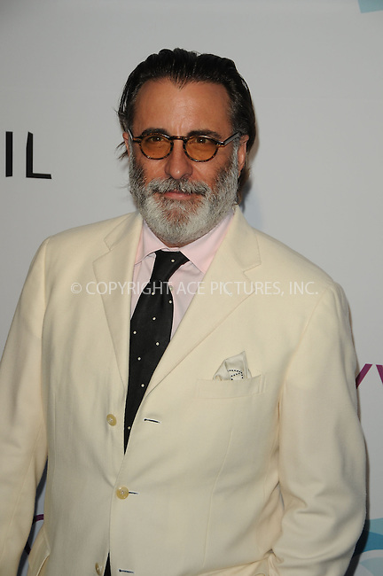 WWW.ACEPIXS.COM . . . . .  ......June 17 2011, Los Angeles....Actor Andy Garcia arriving at the Hollywood Bowl 2011 Hall of Fame Ceremony on June 17, 2011 in Hollywood, California.....Please byline: PETER WEST - ACE PICTURES.... *** ***..Ace Pictures, Inc:  ..Philip Vaughan (212) 243-8787 or (646) 679 0430..e-mail: info@acepixs.com..web: http://www.acepixs.com