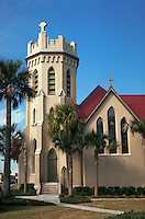 St. Peter's Gothic Revival Episcopal Church, Fernandina Beach, Florida. Fernandina Beach, Florida.