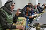 Israel, the Galilee. The Sufi Sheich Abu Falastin in Sachnin, 2004<br />