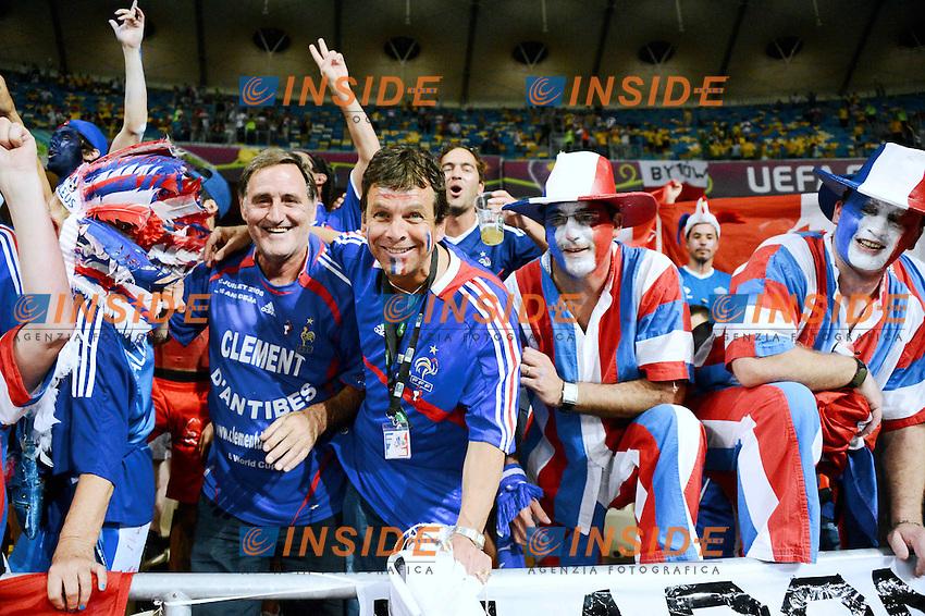 joies Clement d'Antibes .Kiev 19/6/2012 .Calcio Football Euro 2012.Francia Vs Svezia.Foto Insidefoto / Panoramic.Italy ONLY