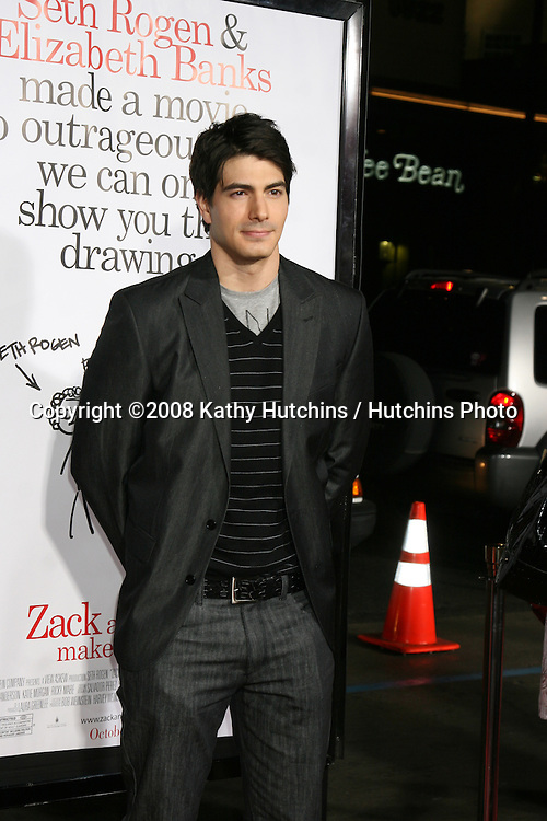 "Brandon Routh  arriving at the ""Zach & Miri Make a Porno"" premiere  at Grauman's Chinese Theater in Hollywood, CA on.October 20, 2008.©2008 Kathy Hutchins / Hutchins Photo...                ."