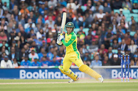 Alex Carey (Australia) drills the ball through the off side during India vs Australia, ICC World Cup Cricket at The Oval on 9th June 2019