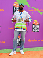 Andre Drummond at Nickelodeon's Kids' Choice Sports 2017 at UCLA's Pauley Pavilion. Los Angeles, USA 13 July  2017<br /> Picture: Paul Smith/Featureflash/SilverHub 0208 004 5359 sales@silverhubmedia.com