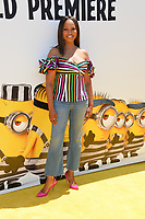 Garcelle Beauvais at the world premiere for &quot;Despicable Me 3&quot; at the Shrine Auditorium, Los Angeles, USA 24 June  2017<br /> Picture: Paul Smith/Featureflash/SilverHub 0208 004 5359 sales@silverhubmedia.com