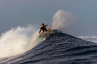 Namotu Island, Fiji ((Sunday, June 7, 2015) Adrian Buchan (AUS) - A lay day was called in the Fiji Pro, stop No. 5 on the 2015 WSL Championship Tour, this morning with inconsistent and declining surf on offer at Cloudbreak. There is a projected increase in size and quality for the coming days so there was no rush to start the event. The lay day gave the Top 34 a good chance to practice in the 3'-4' surf.<br />  Photo: joliphotos.com