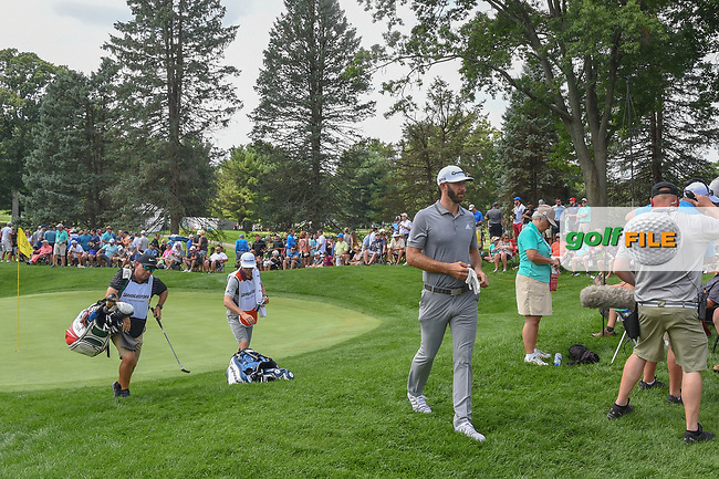 Dustin Johnson (USA) heads to 4 during 1st round of the World Golf Championships - Bridgestone Invitational, at the Firestone Country Club, Akron, Ohio. 8/2/2018.<br /> Picture: Golffile | Ken Murray<br /> <br /> <br /> All photo usage must carry mandatory copyright credit (© Golffile | Ken Murray)
