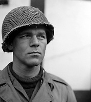 BNPS.co.uk (01202 558833)<br /> NARA/BNPS<br /> <br /> German born US First Army Lieutenant Karl Timmermann was the first American officer to cross the Rhine on March 7. <br /> <br /> Remarkable rarely seen photos of heroic Allied soldiers fighting their way across Europe before crossing the River Rhine 75 years ago feature in a new book.<br /> <br /> They are published in Images of War, Montgomery's Rhine Crossing, which tells the story of the legendary offensive, nicknamed Operation Plunder, in March 1945.<br /> <br /> On the night of March 23, Field Marshal Bernard Montgomery's 21st Army Group launched a massive artillery, amphibious and airborne assault to breach the historic defensive water barrier protecting northern Germany.<br /> <br /> At the same time, the Americans, with the support of the British 6th Airborne Division, set in motion Operation Varsity - involving 16,000 paratroopers - on the east bank of the Rhine. They were dropped here to seize bridges to prevent German reinforcements from contesting the bridgeheads.<br /> <br /> Fierce fighting ensued, with much bloodshed on both sides as the Allies met determined resistance from machine gun nests. But the daring operation proved successful, helping to considerably shorten the war - the Nazis surrendered just six weeks later.
