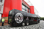 Sheffield Utd team bus outside the riverside stadium during the Sky Bet Championship match at the Riverside Stadium, Middlesbrough. Picture date: August 12th 2017. Picture credit should read: Jamie Tyerman/Sportimage