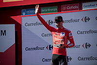 Nicolas Roche (IRE/Sunweb) is the new red jersey (overall leader) after stage 2<br /> <br /> Stage 2: Benidorm to Calpe (199.6km)<br /> La Vuelta 2019<br /> <br /> ©kramon