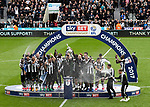 Newcastle United win the EFL Championship during the EFL Championship match at St James' Park Stadium, Newcastle upon Tyne. Picture date: May 7th, 2017. Pic credit should read: Jamie Tyerman/Sportimage