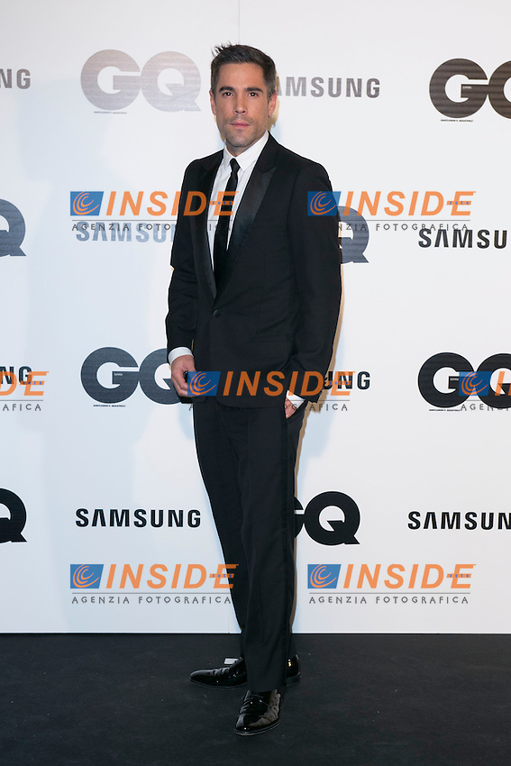 """Unax Ugalde attends the """"GQ AWARDS"""" at Palace Hotel in Madrid, Spain. November 3, 2014. (ALTERPHOTOS/Carlos Dafonte/Insidefoto)"""