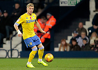 Leeds United's Ezgjan&nbsp;Alioski in action<br /> <br /> Photographer David Shipman/CameraSport<br /> <br /> The EFL Sky Bet Championship - West Bromwich Albion v Leeds United - Saturday 10th November 2018 - The Hawthorns - West Bromwich<br /> <br /> World Copyright &copy; 2018 CameraSport. All rights reserved. 43 Linden Ave. Countesthorpe. Leicester. England. LE8 5PG - Tel: +44 (0) 116 277 4147 - admin@camerasport.com - www.camerasport.com