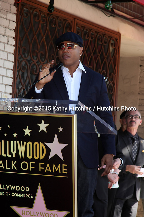 LOS ANGELES - MAR 5:  LL Cool J, James Todd Smith at the Chris O'Donnell Hollywood Walk of Fame Star Ceremony at the Hollywood Blvd on March 5, 2015 in Los Angeles, CA