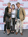 Alexandra Wentworth, Elliott Anastasia Stephanopoulos, Harper Andrea Stephanopoulos and George Stephanopoulos attend 'The Play That Goes Wrong' Broadway Opening Night at the Lyceum Theatre on April 2, 2017 in New York City.