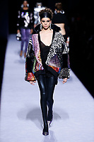 Tom Ford<br /> Hiandra Martinez<br /> New York Fashion Week <br /> FW18<br /> <br /> New York Fashion Week,  New York, USA in February 2018.<br /> CAP/GOL<br /> &copy;GOL/Capital Pictures