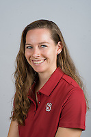 STANFORD, CA - AUGUST 13, 2013 - Amy Brown of the Stanford Women's Volleyball team.