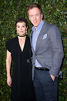 Helen McRory &amp; Damien Lewis arriving for the 2018 Charles Finch &amp; CHANEL Pre-Bafta party, Mark's Club Mayfair, London, UK. <br /> 17 February  2018<br /> Picture: Steve Vas/Featureflash/SilverHub 0208 004 5359 sales@silverhubmedia.com