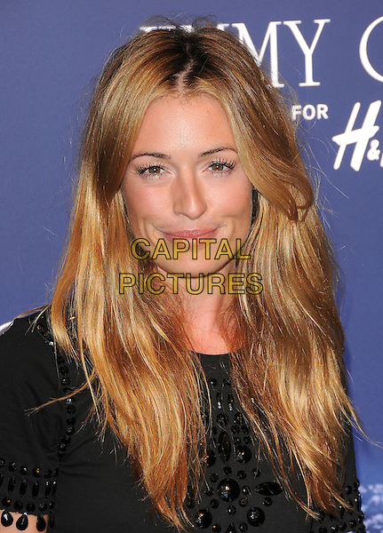 CAT DEELEY .at The Jimmy Choo for H&M Launch Party in support of The Motion Picture & Television Fund held at  a private residence in West Hollywood, California, USA, November 2nd 2009..portrait headshot black beaded embellished jewel encrusted                                                     .CAP/RKE/DVS.©DVS/RockinExposures/Capital Pictures.