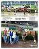 Quinby Pete winning at Delaware Park racetrack on 6/12/14