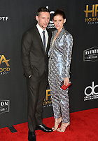 Kate Mara &amp; Jamie Bell at the 21st Annual Hollywood Film Awards at The Beverly Hilton Hotel, Beverly Hills. USA 05 Nov. 2017<br /> Picture: Paul Smith/Featureflash/SilverHub 0208 004 5359 sales@silverhubmedia.com