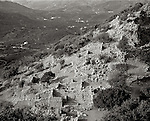 Ruins of the ancient Greek city called Lato.  Its harbor was used in Roman times.