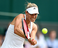 ANGELIQUE KERBER (GER)<br /> The Championships Wimbledon 2014 - The All England Lawn Tennis Club -  London - UK -  ATP - ITF - WTA-2014  - Grand Slam - Great Britain -  26th. June 2014. <br /> <br /> © J.Hasenkopf / Tennis Photo Network