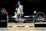 Olivier Philippaerts of Belgium riding Cabrio van de Heffinck competes at the Hong Kong Jockey Club trophy during the Longines Hong Kong Masters 2015 at the AsiaWorld Expo on 13 February 2015 in Hong Kong, China. Photo by Juan Flor / Power Sport Images