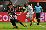 17.03.2019, BayArena, Leverkusen, GER, DFL, 1. BL, Bayer 04 Leverkusen vs SV Werder Bremen, DFL regulations prohibit any use of photographs as image sequences and/or quasi-video<br /> <br /> im Bild v. li. im Zweikampf Charles Aranguiz (#20, Bayer 04 Leverkusen) Maximilian Eggestein (#35, SV Werder Bremen) <br /> <br /> Foto © nph/Mauelshagen