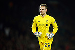 Simon Mignolet of Liverpool during the UEFA Europa League match at Old Trafford. Photo credit should read: Philip Oldham/Sportimage