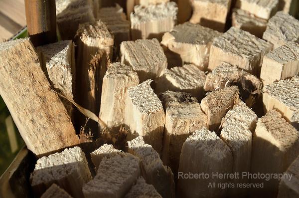 Firewood sticks.