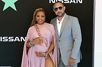 LOS ANGELES, CA - JUNE 23: Eva Marcille and Michael Sterling at the 2019 BET Awards at the Microsoft Theater in Los Angeles on June 23, 2019. Credit: Walik Goshorn/MediaPunch