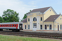 Bahnhof in Kedainiai, Litauen, Europa